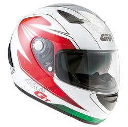 GIVI 40.2 GT kypärä Racing valk/pun/vihr
