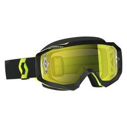 Scott Goggle Hustle MX black/fluo yellow yellow chrome works
