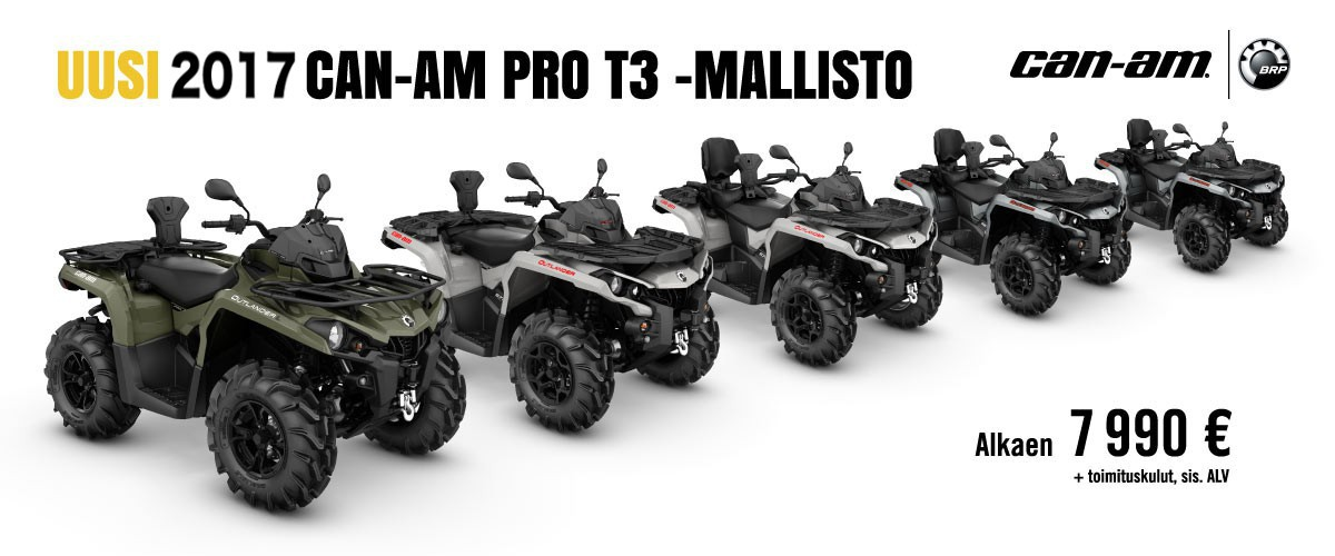 Jokiniemi-Motors Oy, Seinäjoki - BRP Can-Am, Kawasaki, Suzuki, Yamaha - Moottoripyöriä, mönkijöitä, veneitä, moottorikelkkoja, perämoottoreita, varaosia, ajovarusteita
