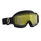 Scott Goggle Hustle Snow Cross black/grey yellow