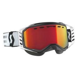 Scott Goggle Prospect Black/White enhancer red chrome