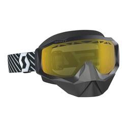 Scott Hustle X Snow Cross Black/White/Yellow