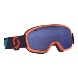 Scott Goggle Buzz Pro Snow Cross oran/blue sky blue