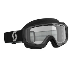 Scott Goggle Hustle Snow Cross black/grey clear