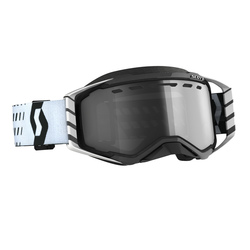 Scott Goggle MX Prospect Enduro LS black/white light sensitive grey