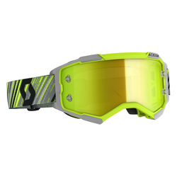 Scott Goggle MX Fury yellow/grey yellow chrome works