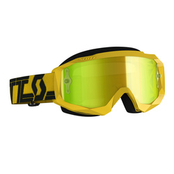 Scott Goggle MX Hustle X MX yellow/black yellow chrome works