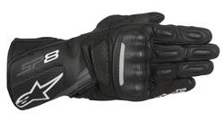 Alpinestars hanskat SP-8 v2 musta/harmaa