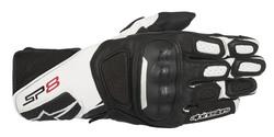Alpinestars hanskat SP-8 v2 musta/valkoinen