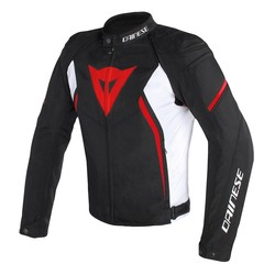 DAINESE AVRO D2 TEX BLK/WHT/RED
