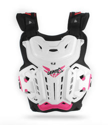 Leatt Chest protector 4.5 White/Pink Jackie