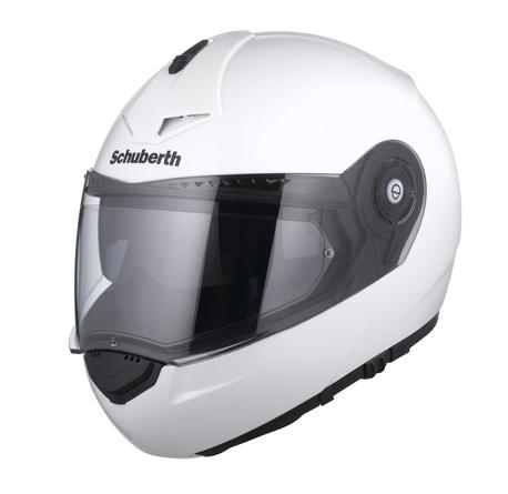 SCHUBERTH C3 PRO kypärä valkoinen