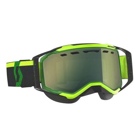 Scott Goggle Prospect Green/Black/enhancer yellow chrome