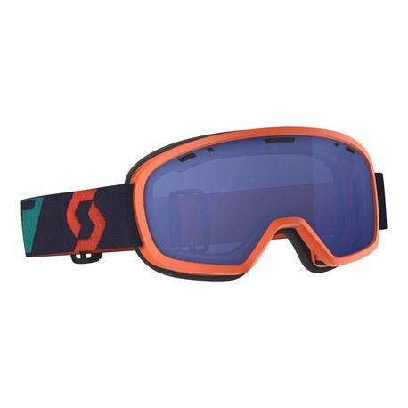 Scott Goggle Buzz Pro Snow Cross oran/blue sky blue