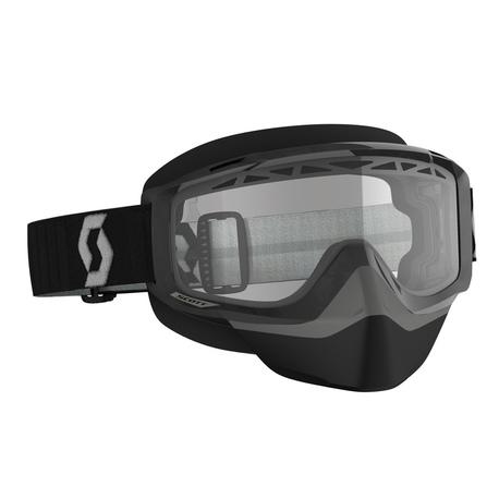 Scott Goggle Split OTG Snow Cross  black/grey clear