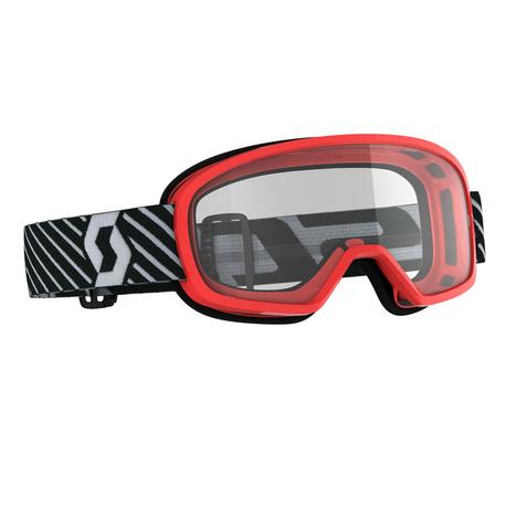 Scott Goggle MX Buzz MX red clear