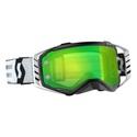 Scott  Goggle Prospect black/white green chrome works