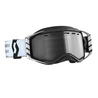 Scott Goggle MX Prospect Enduro LS black/white light sensitive grey