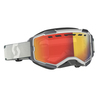 Scott Goggle Fury LS Snow Cross grey ls red chrome